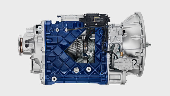 A I-Shift Dual Clutch com redutoras